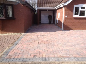 Solihull block paving driveways